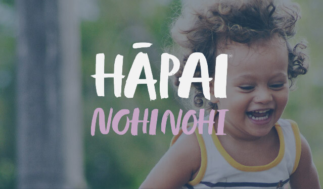 Hāpai Nohinohi - Parenting Courses for Parents of children 1-4 years